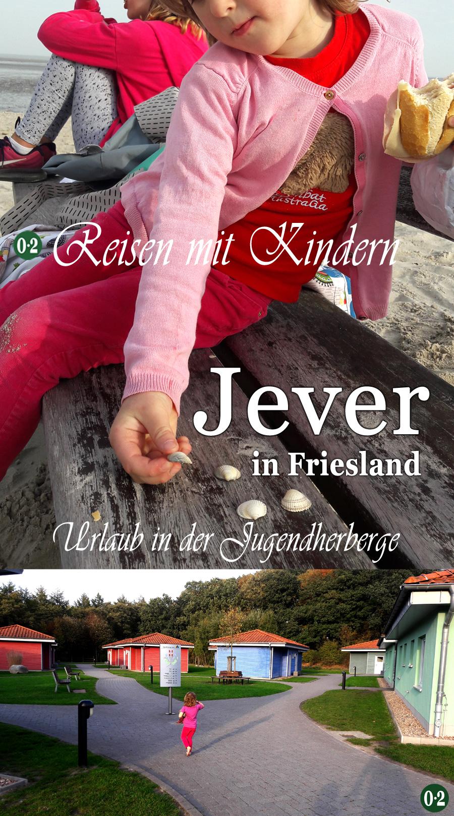 Urlaub mit Kindern in der Jugenherberge Jever