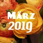 Im letzten Monat | März 2019