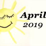 Im letzten Monat | April 2019