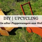 DIY: Ein Lauflernwagen wird zu einem Blumenkasten