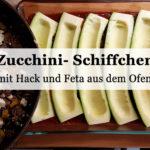 Rezept: Zucchinischiffchen aus dem Ofen