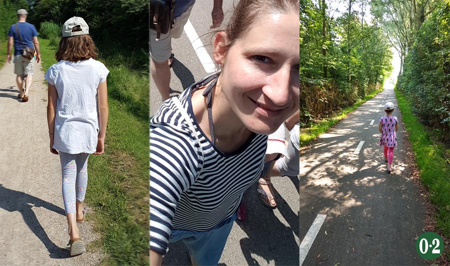 Spaziergang vom Ferienpark De Krim nach De Cocksdorp