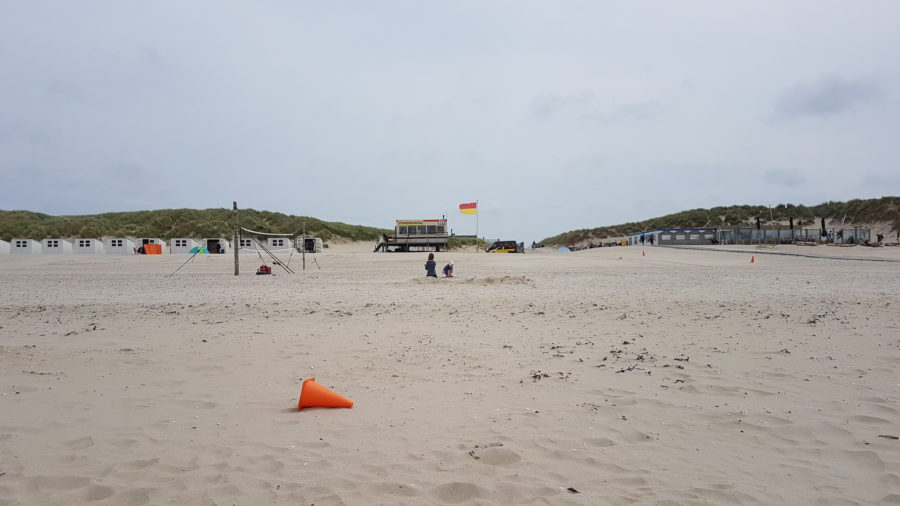 Paal 28 Bewachter Strand auf Texel