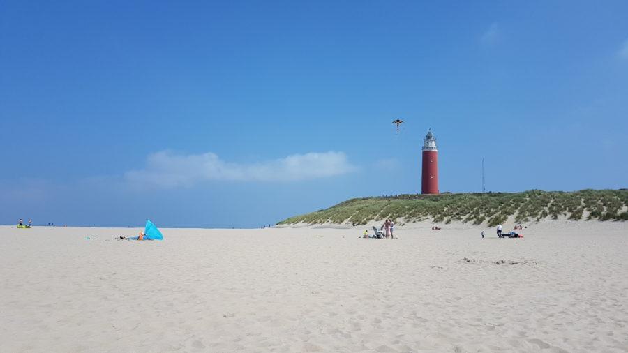 Leuchtturm am Paal 31 auf Texel