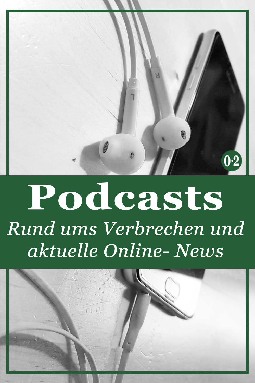 Die Podcast- Welt ist riiesig geworden. Hier sind meine liebsten Podcasts vor allem zum Thema Verbrechen - von TrueCrime bis Krimi- Comedy.