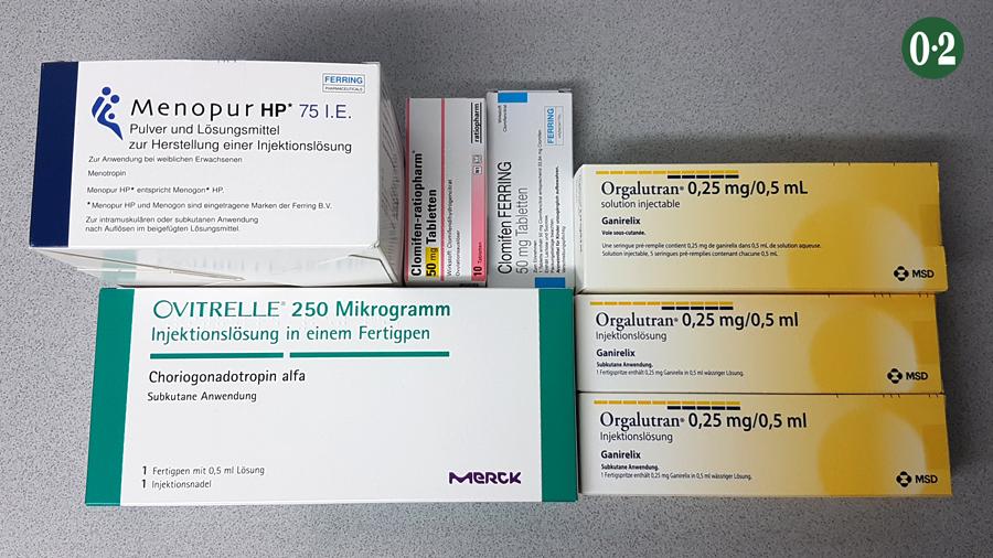 Medikamente IVF ICSI Nr2