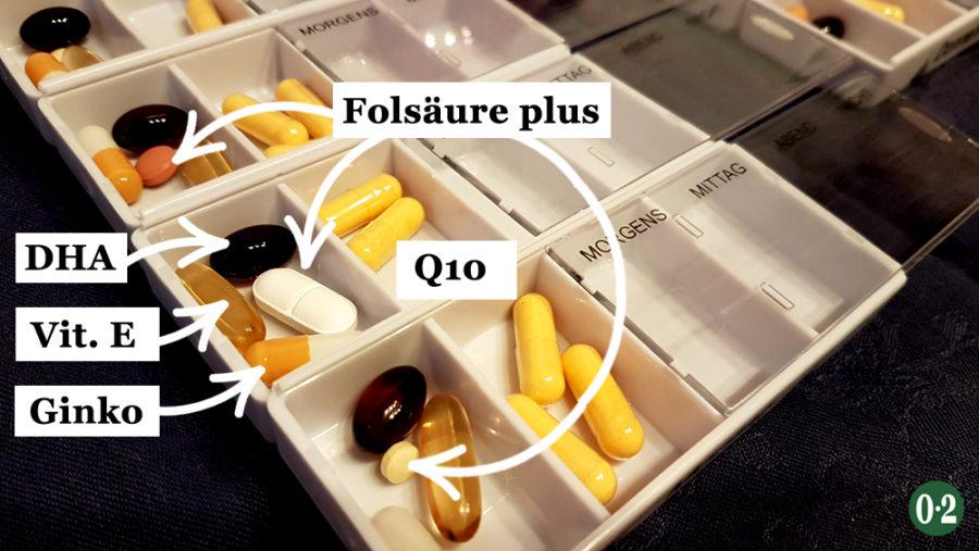 Eizellqualität verbessern mit Nahrungsergänzungsmitteln