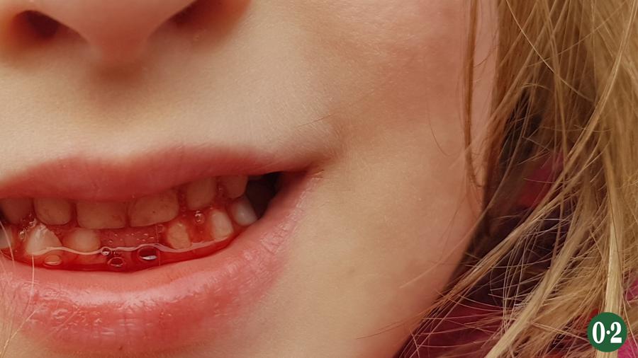 Oktober 2019: Die June mit erster Zahnlücke