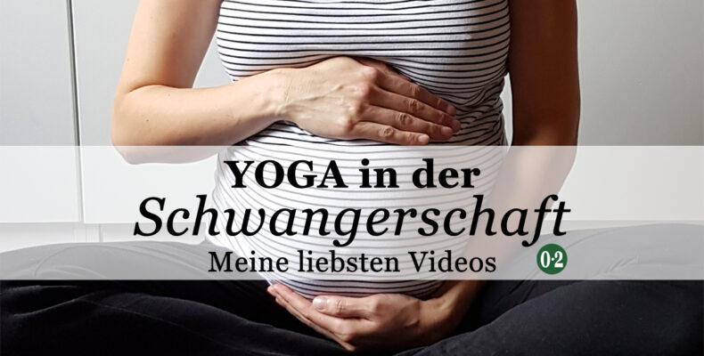 Meine Liste mit Videos für Schwangerschaftsyoga